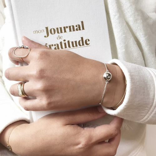 Bracelet mommy zen - Angel caller  - Rose gold - Ilado
