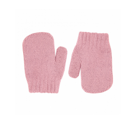 Mittens - 1 finger - Pale pink - Condor