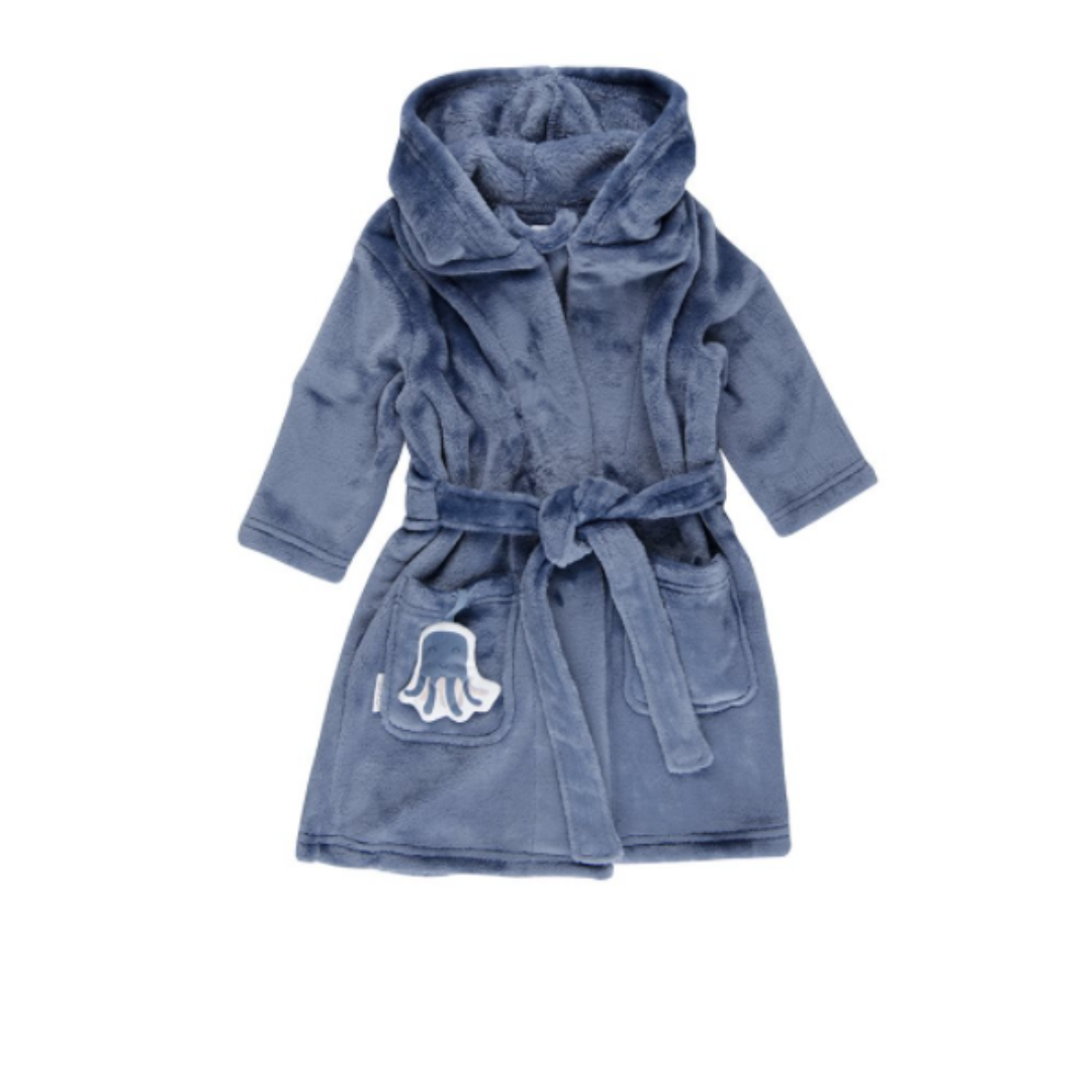 Baby bathrobe - Ocean Blue - LD