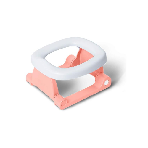 Flamingo Pink Folding Travel Potty - Pottiagogo