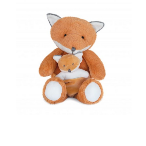 Fox with baby - DC3790