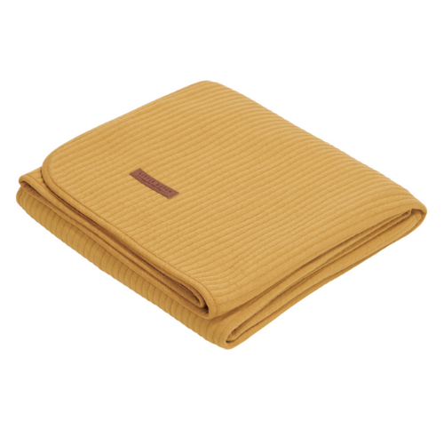 Bassinet summer blanket - Pure Ochre - Little dutch