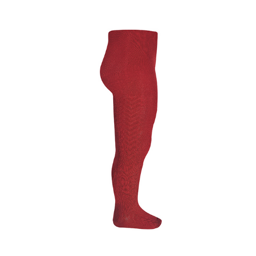 Tights - Patterned - Red - Condor