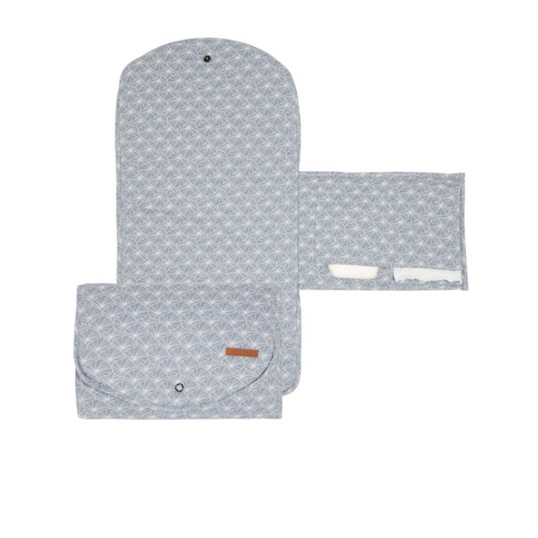 Changing pad comfort - Lily leaves Blue - LD