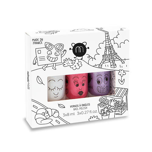 City - Nail Polish Set