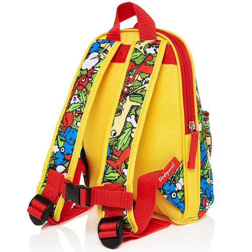 Mini Backpack & Safety Harness / Reins Age 1-4 Years Dino Multi