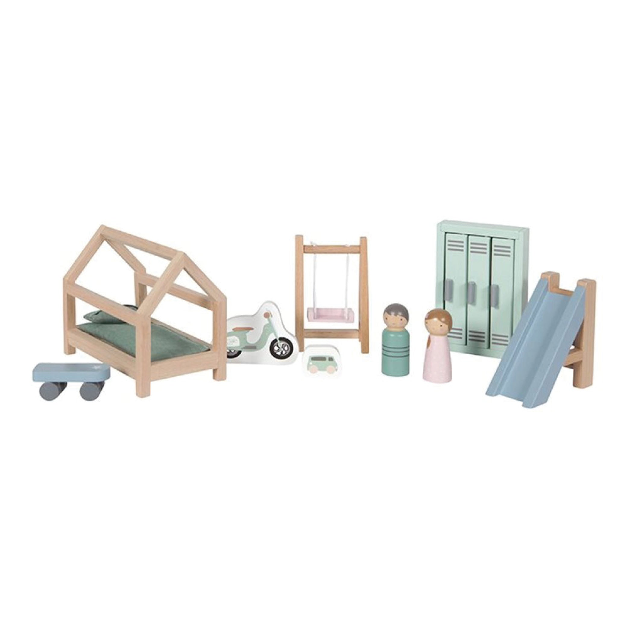 Doll's house Children's room playset - little dutch