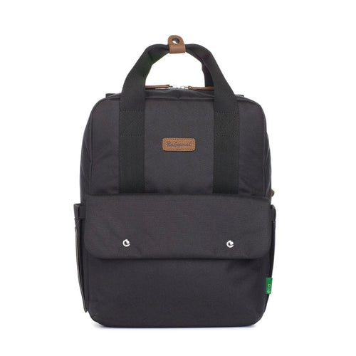 Backpack - Georgi eco convertible - Black - Babymel