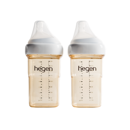 HEGEN PCTO™ 240ML/8OZ FEEDING BOTTLE PPSU, 2-PACK