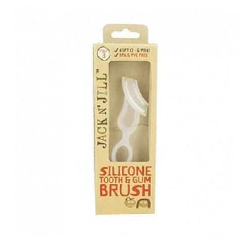 Jack N' Jill Silicone Tooth & Gum Brush - Stage 3 (2-5 years)