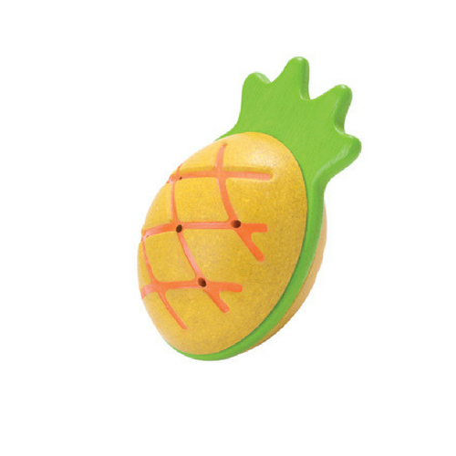 Pineapple maraca 6PCS@ PACK - Plan Toys 5628