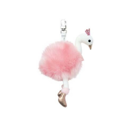 Key chain Pink Swan - Histoire d'Ours HO2783