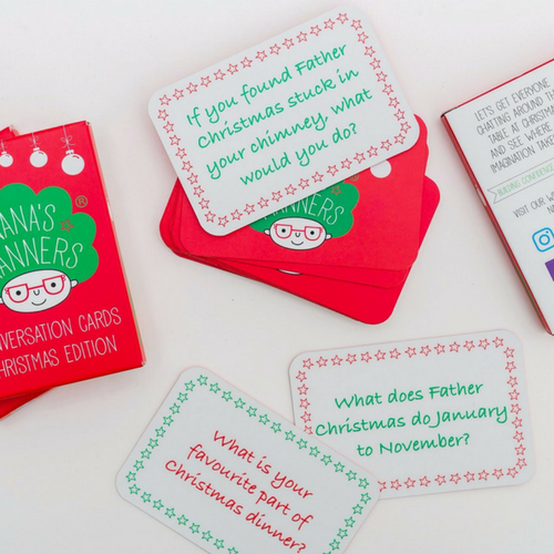 Nana's Manners Christmas Edition Conversation Cards
