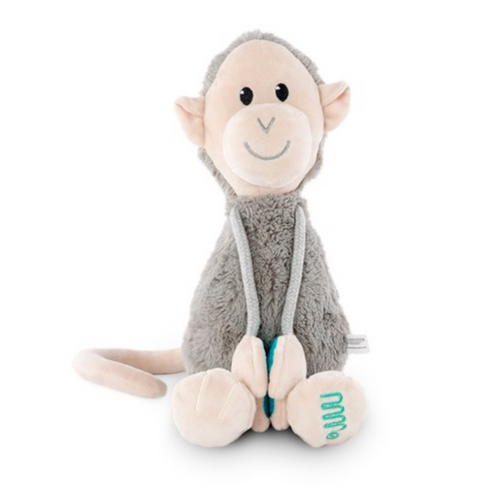 Plush Monkey With Velcro Arms - Large soft toy