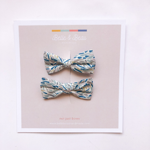 Belle & Beau - Mini Belle - Blue Confetti