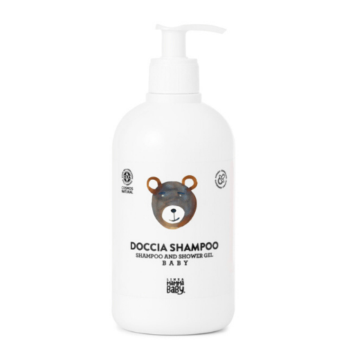 BABY SHAMPOO AND SHOWER GEL 500 ml Cosmos certified - Linea MammaBaby