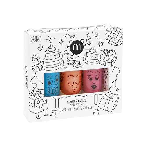 3 polish box - Party - Nailmatic