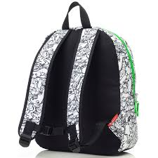 Backpack - Junior - Dino Black&White - Z&Z