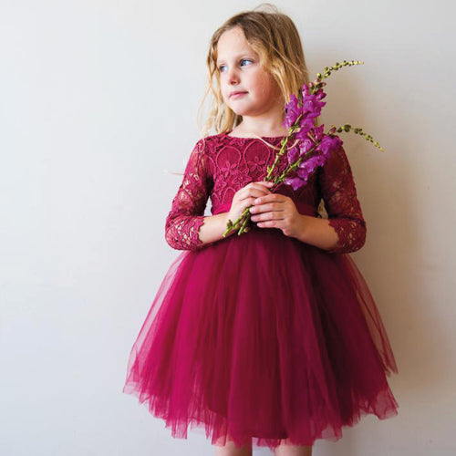 Malta Tutu dress in Magenta - Gaia & Nina
