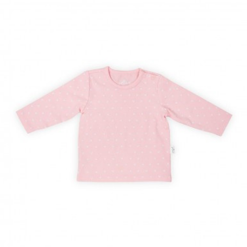 Long sleeve heart soft pink Jollein