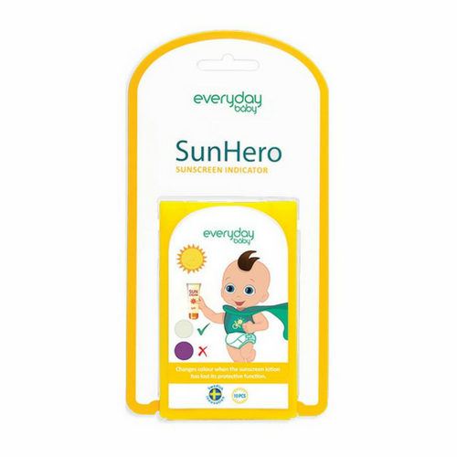 SunHero Sunscreen Indicator 10-Pack - Everyday Baby