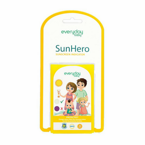 SunHero Sunscreen Indicator 24-Pack - Everyday Baby