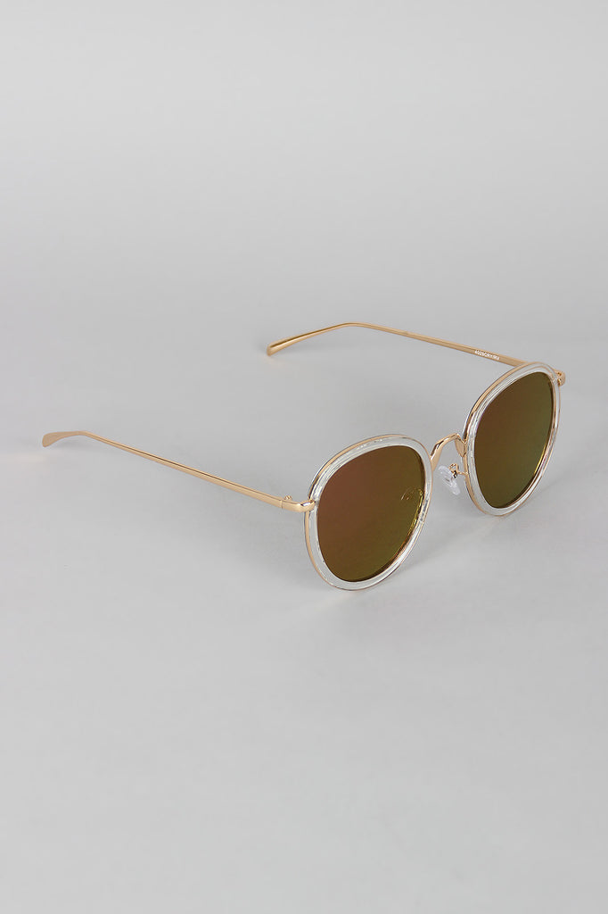 Pointy Bridge Plastic and Metal Sunglasses – Collective Fab