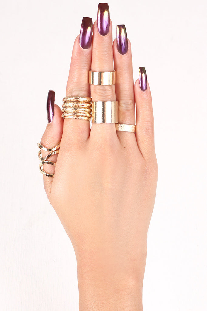 Banded Together Ring Set