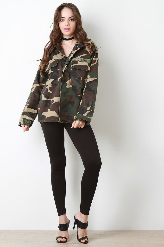 Army Brat Twill Jacket