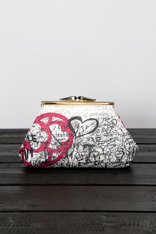"HEARTBAG - Pochette ""Graffiti"""