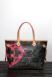 "HEARTBAG - Shopping ""Graffiti Black"""
