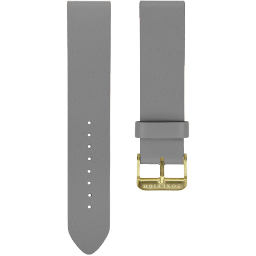 Grey with Gold Buckle