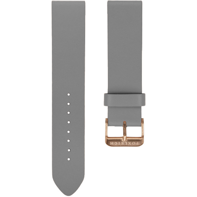 Grey with Rose Gold Buckle