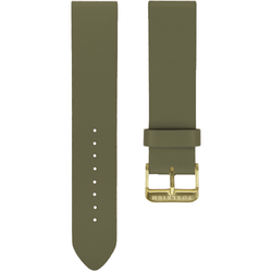 Khaki with Gold Buckle