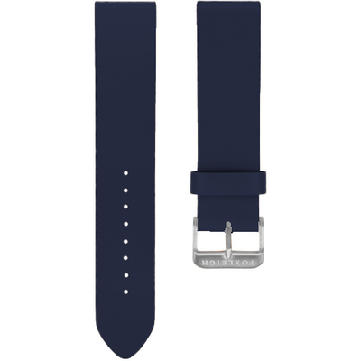 Navy with Silver Buckle