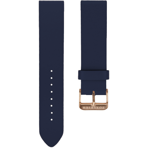 Navy with Rose Gold Buckle
