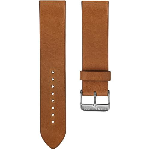 Tan with Silver Buckle