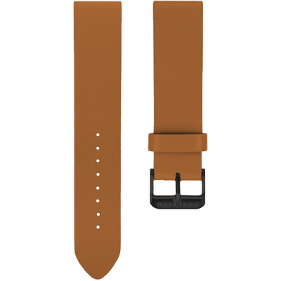 Tan with Black Buckle