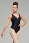 Savannah Leotard - Pitch Black
