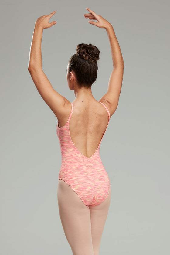 Bellizza Leotard - Orange Sherbet