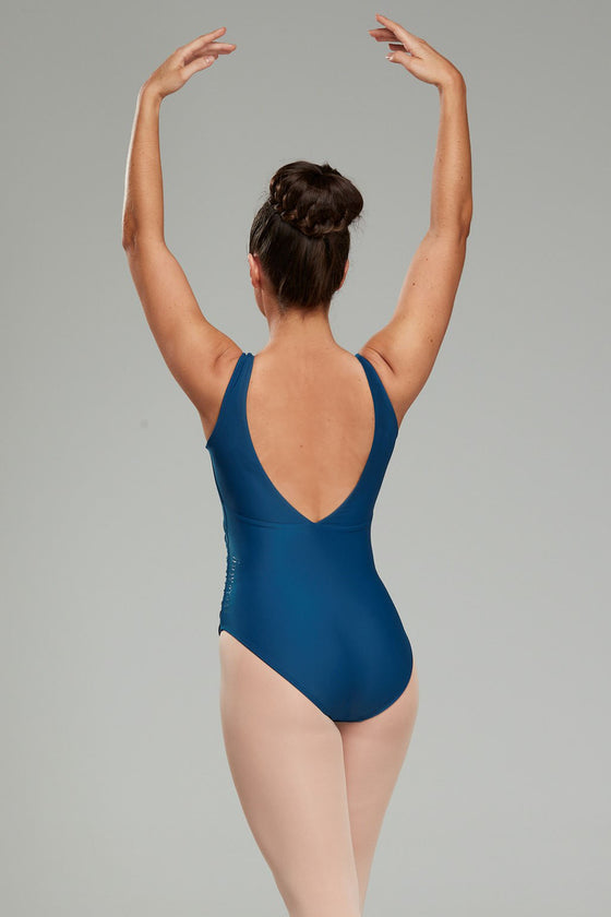 Calliope Leotard - Peacock