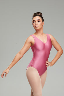 Calliope Leotard - Dusty Rose