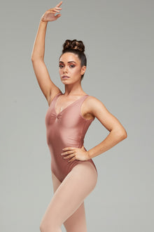 Calliope Leotard - Coffee Cream