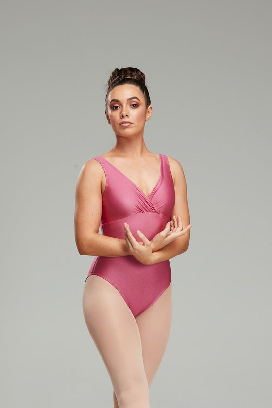 Savannah Leotard - Dusty Rose