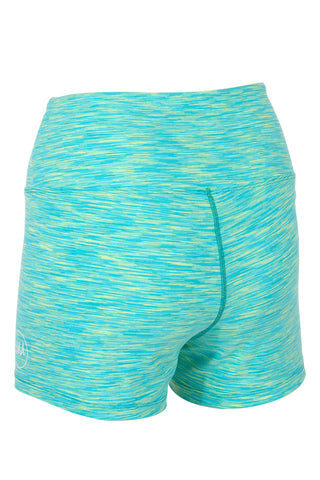 Ultimate Booty Shorts - ELECTRIC LIME