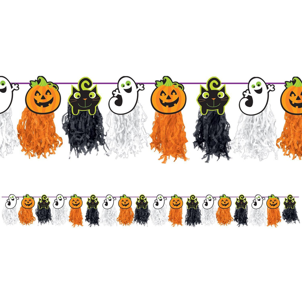 Amscan Halloween Icons Tissue Garland