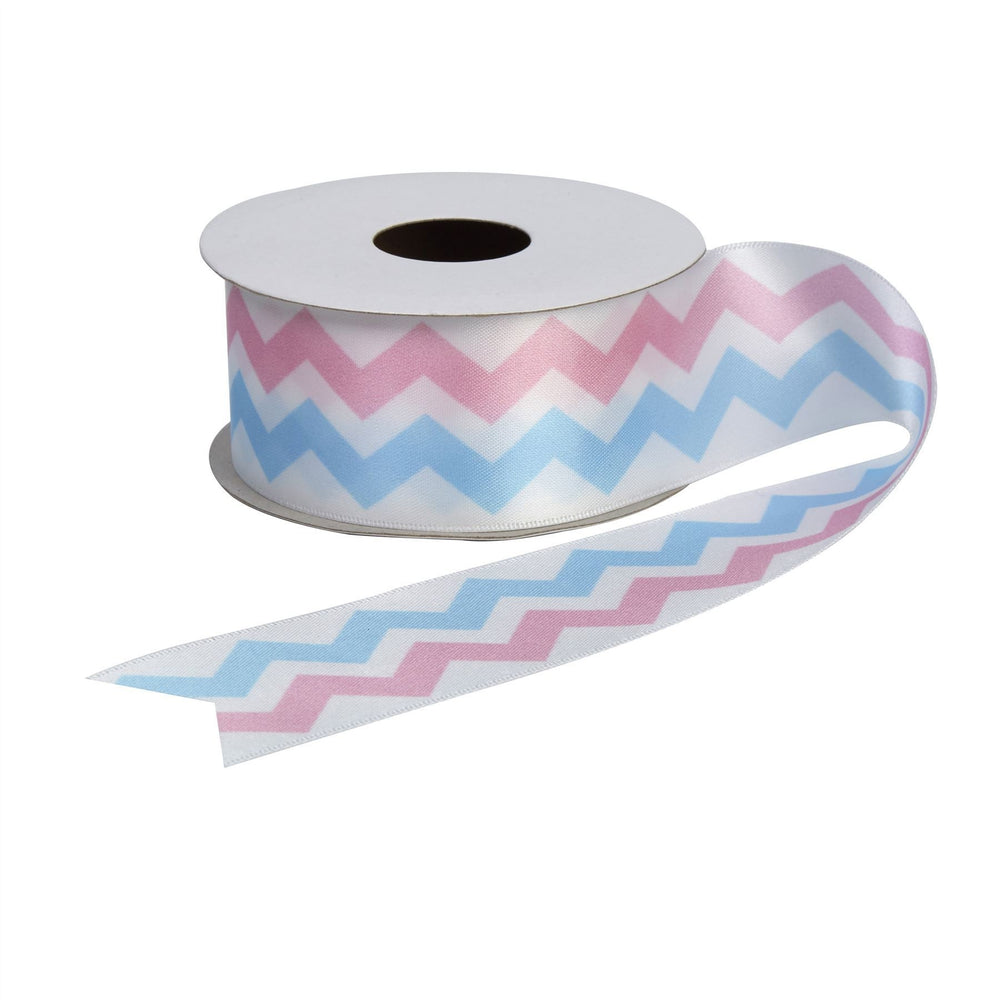 Pattern Works - Chevron Printed Ribbon - 38mm x 2.5m roll