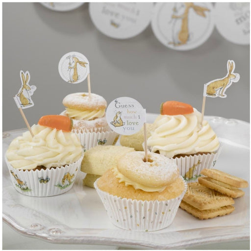Guess How Much I Love you - Cupcake Picks - 20