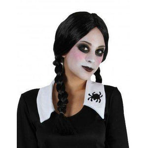 Black plaits wig (Halloween) - out of stock at HOP 11/10