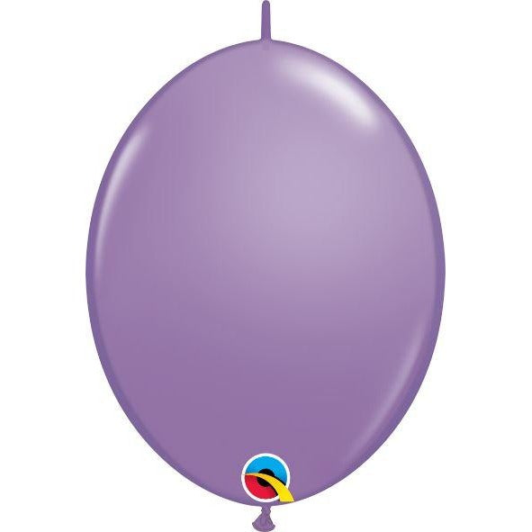 "12"" QLINK SPRING LILAC    50CT,  QUALATEX QUICK LINK BALLOONS"